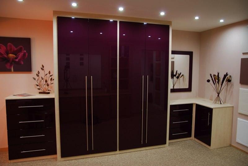 Gloss Wardrobes Bespoke Bedroom Furnitue